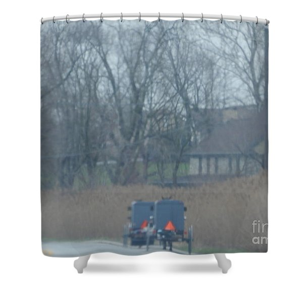 Visiting Day Shower Curtain