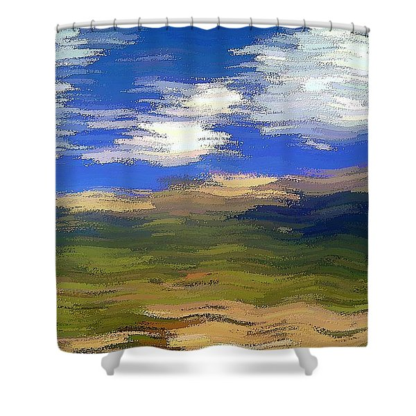 Vista Hills Shower Curtain