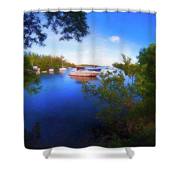 Vista Series Grpr0382 Shower Curtain