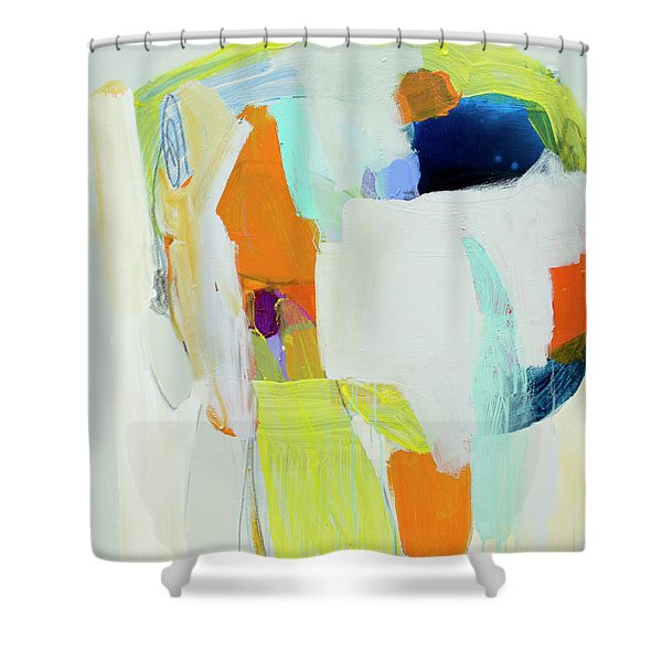 Vitreous Narcissus Shower Curtain