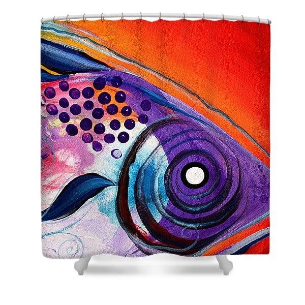 Vivid Fish Shower Curtain