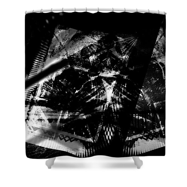 Volcanic Fury Shower Curtain
