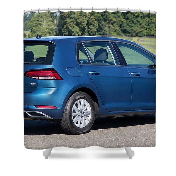 Volkswagen Golf Tsi Shower Curtain