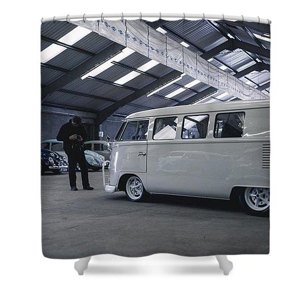 Volkswagen Microbus Shower Curtain