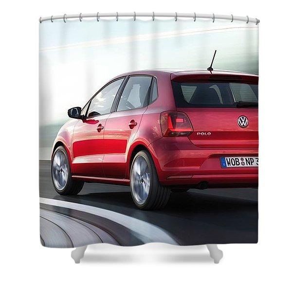 Volkswagen Polo Shower Curtain