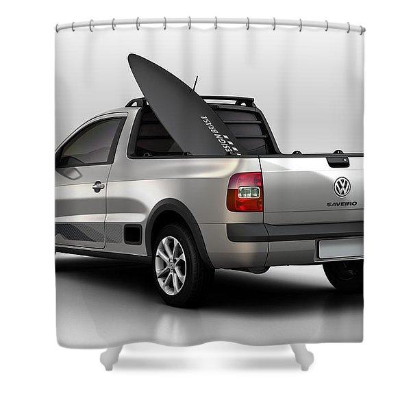 Volkswagen Saveiro Shower Curtain