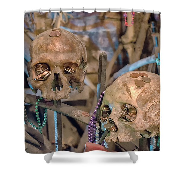 Voodoo Altar Shower Curtain