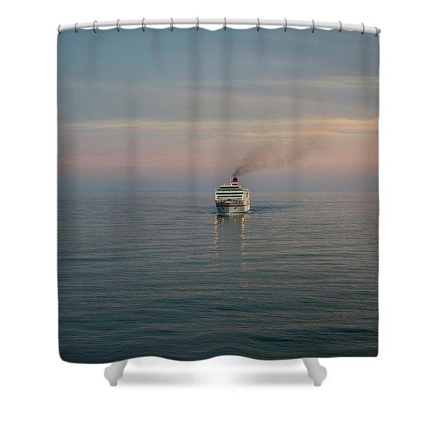 Voyage Home 4 Shower Curtain