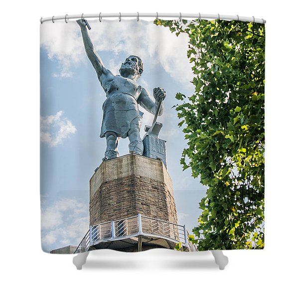 Vulcan On A Sunny Day Shower Curtain