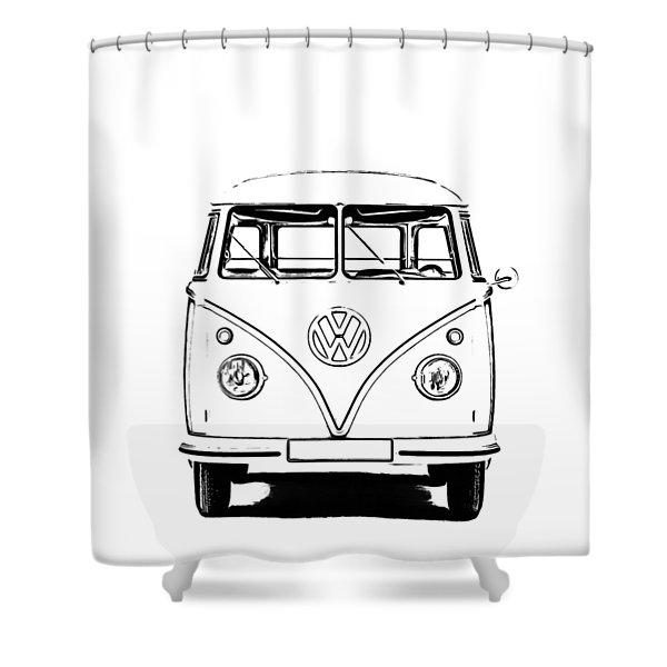 Bus  Shower Curtain