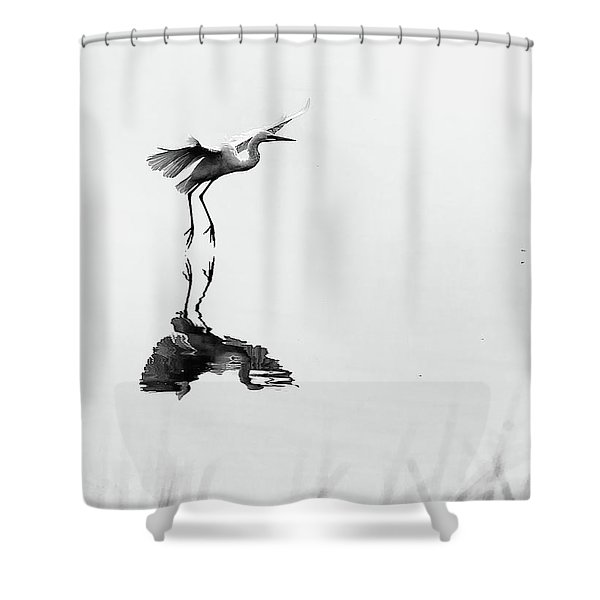 Wafu Shower Curtain