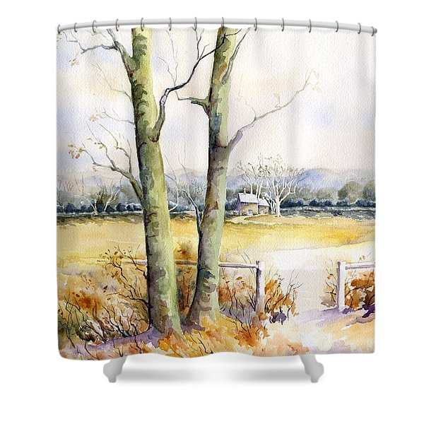 Wagner's Farm Shower Curtain