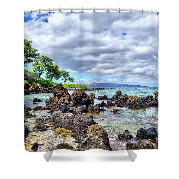 Wailea Beach #2 Shower Curtain