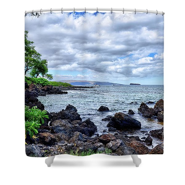 Wailea Beach Shower Curtain
