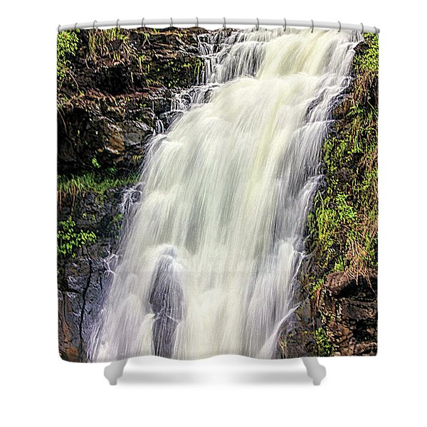 Waimea Falls Shower Curtain