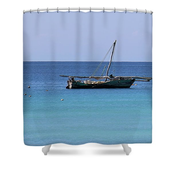 Waiting For Adventure Shower Curtain