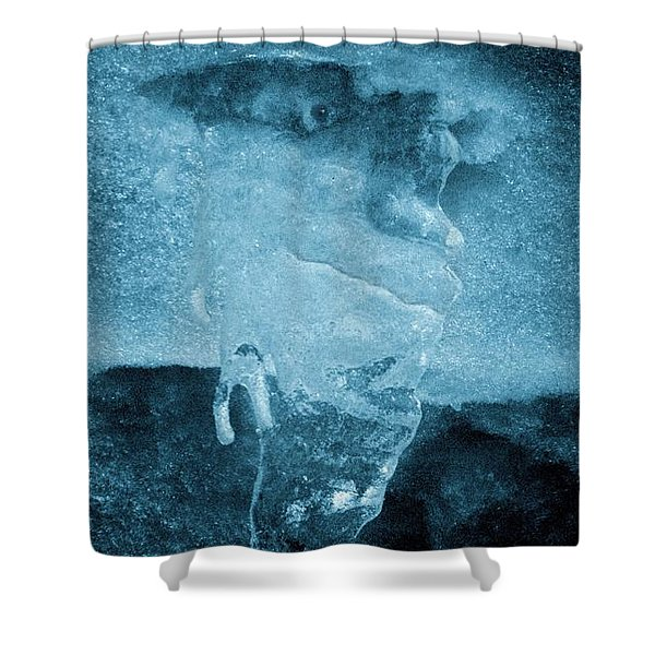 Waiting For An Old Flame Shower Curtain