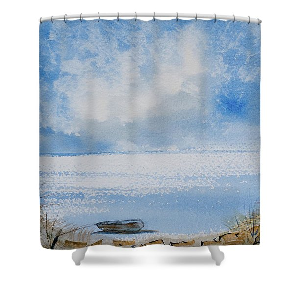 Waiting For Sailor's Return Shower Curtain