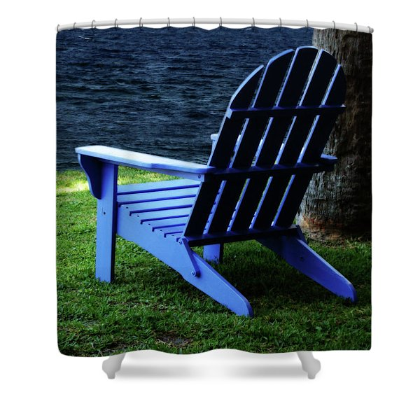 Waiting Shower Curtain by Sandy Keeton