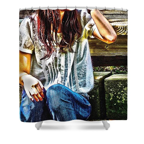 Waitng For You Shower Curtain