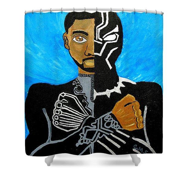 Wakanda Forever Shower Curtain