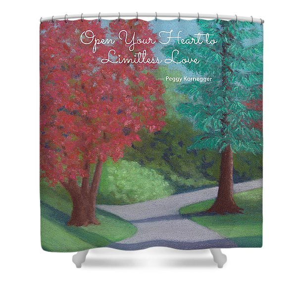 Waking Up - With Quote Shower Curtain