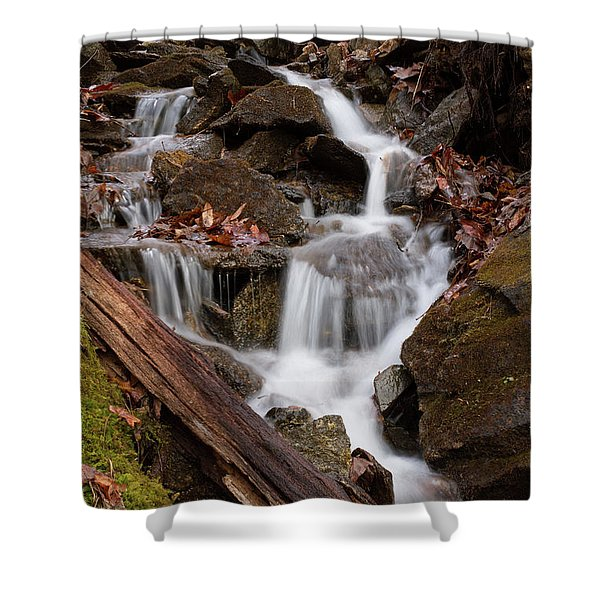 Walden Creek Cascade Shower Curtain