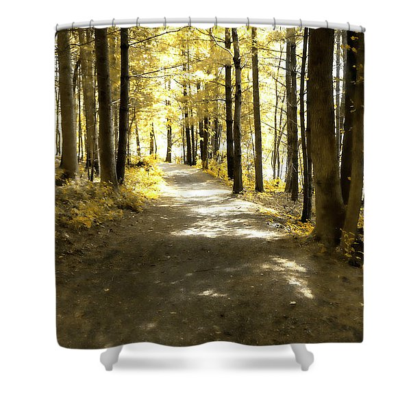 Walk In The Woods Shower Curtain