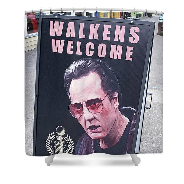 Walkens Welcome Shower Curtain