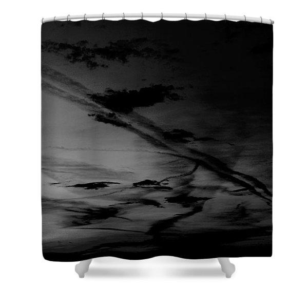 Walking Away Shower Curtain