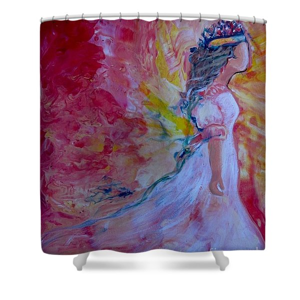 Walking In Authority Shower Curtain