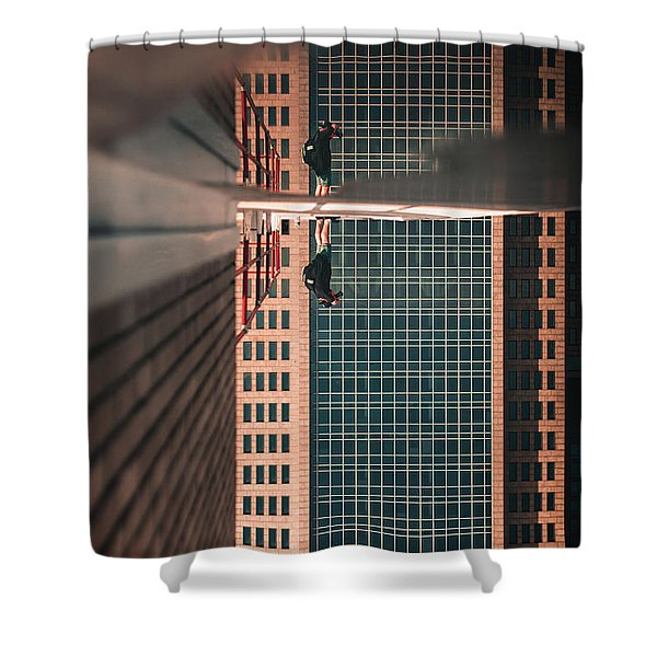 Walking On Clouds Shower Curtain