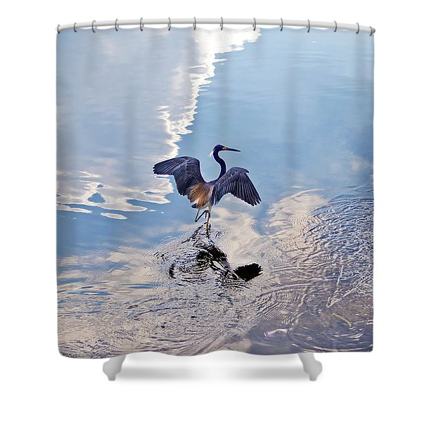 Walking On Water Shower Curtain
