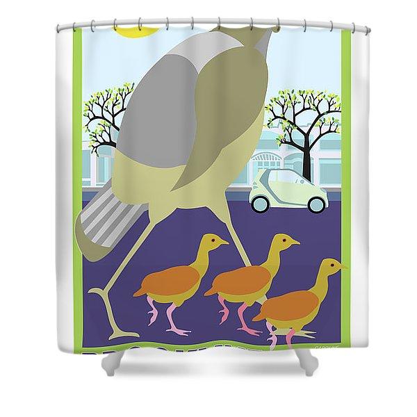Walking Tours Shower Curtain