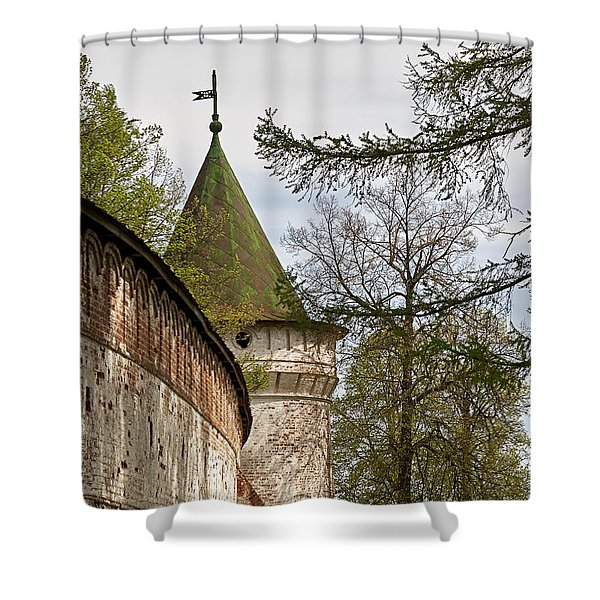 Wall And Tower Shower Curtain