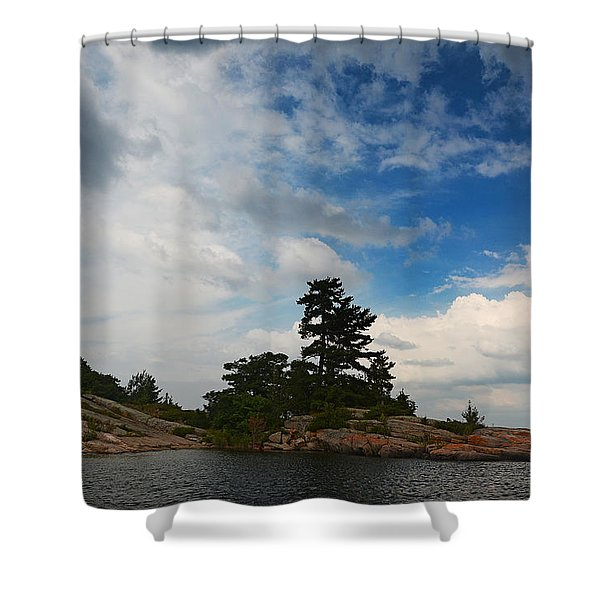 Wall Island Big Sky 3627 Shower Curtain