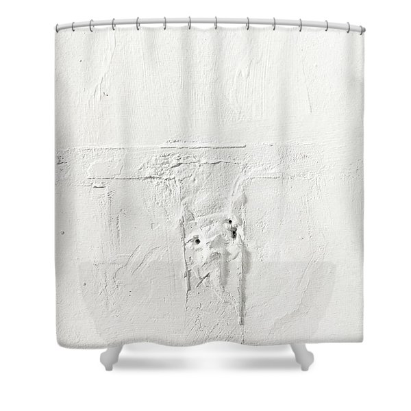 Wall Plaster Detail Shower Curtain