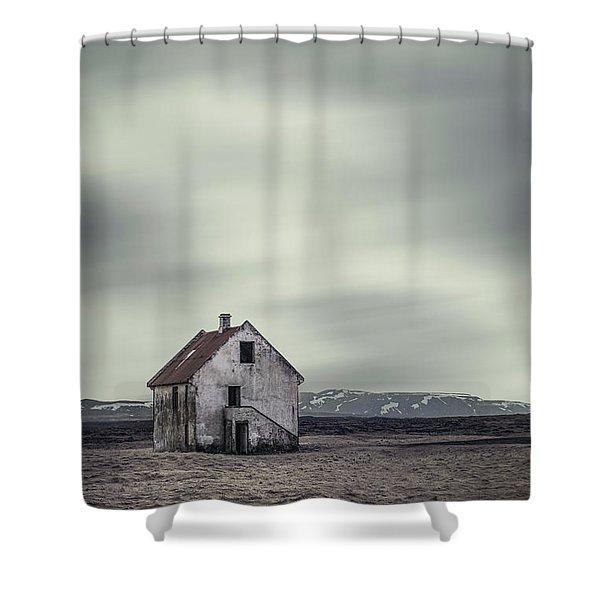 Walls Of Desolation Shower Curtain