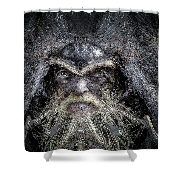 Wally Woodfury Shower Curtain