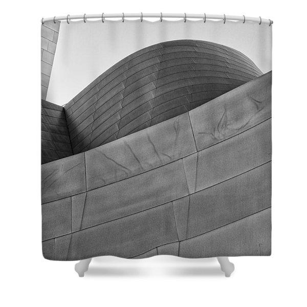 Walt Disney Concert Hall Four Shower Curtain