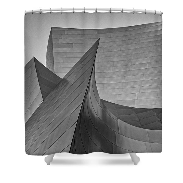 Walt Disney Concert Hall Three Shower Curtain