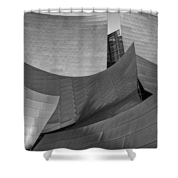 Walt Disney Concert Hall Two Shower Curtain