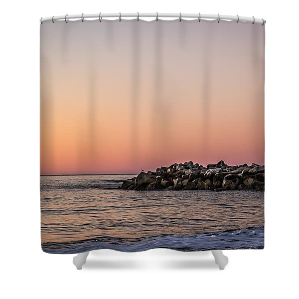 Walton At Sunset Shower Curtain