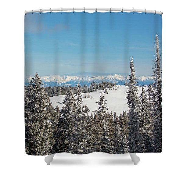 Walton Peak  Shower Curtain