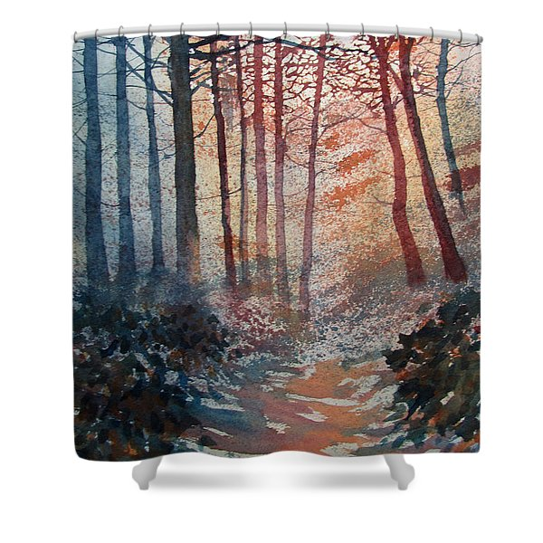 Wander In The Woods Shower Curtain