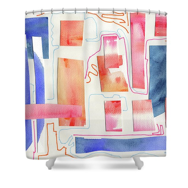 Wander More Shower Curtain