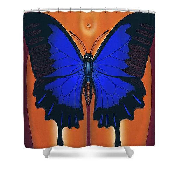 Wandering Dream 2 Shower Curtain