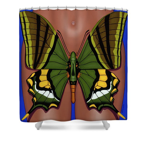 Wandering Dream 3 Shower Curtain