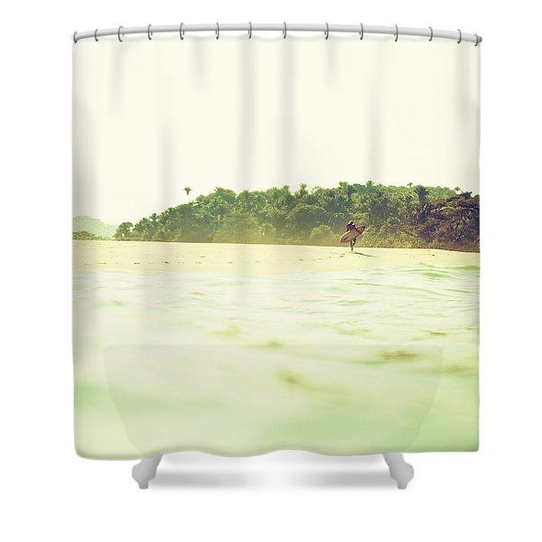 Wandering Shower Curtain