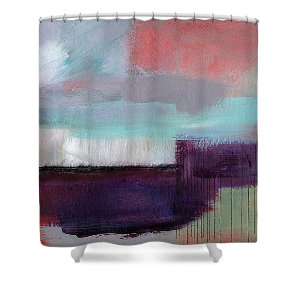 Wanderlust 22- Art By Linda Woods Shower Curtain